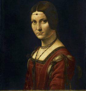 f1b857440f Senki sem tudja, ki vagyok én, és nem is fogják soha, Leonardo nem tett  említést rólam, 1495-99 körül festhetett meg. Főleg Milánó hercegének,  Ludovico ...